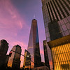 New York City - World Trade Center at Dusk