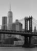 The Manhattan Bridge and the (New) World Trace Center, New York City
