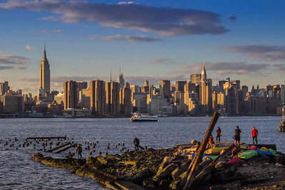 Manhattan seen from Williamsburg