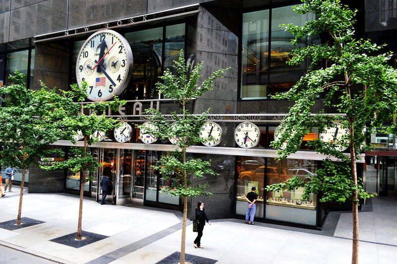 Tourneau Watch and Clock Building in NYC