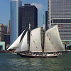 Big sailboat on the East River