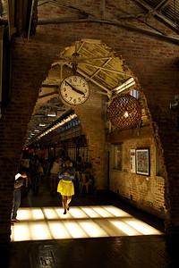 Clock in Chelsea Market, Manhattan