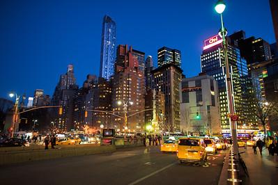 Columbus Circle, Manhattan, New York City