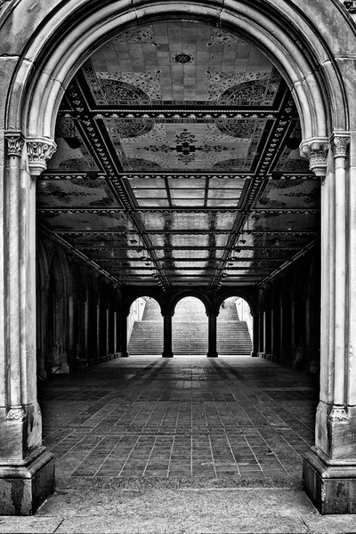 Underpass in Central Park - New York City