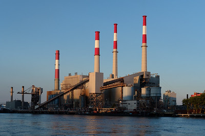 Consolidated Edision's Ravenswood Generating Center, Astoria, Queens, New York City