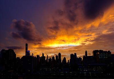 Manhattan Sunset, 7/24/2017