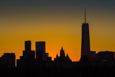 Lower Manhattan after Sunset