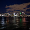 Hand-held shot I took from the Weehawken waterfront.