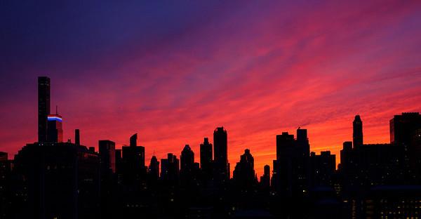 Manhattan Sunset, 7/3/2016