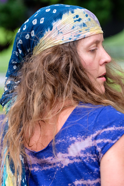 Dancer, Central Park Drum Circle, New York City, 8/26/2018