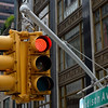 Traffic Light at Madison Avenue in NYC