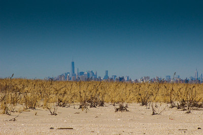 New York City seen from Sandy Hook, New Jersey