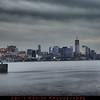 6 shot HDR at dusk of lower Manhattan