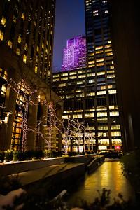Manhattan Midtown by night
