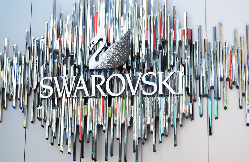 Swarovski Sign in NYC