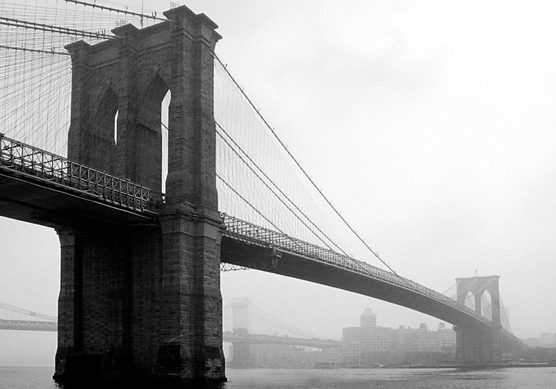 Brooklyn Bridge from Manhattan - New York City
