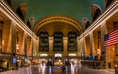 All quiet on the (grand) central front