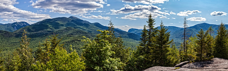 Panorama View From Mt Jo in the Adirondacks