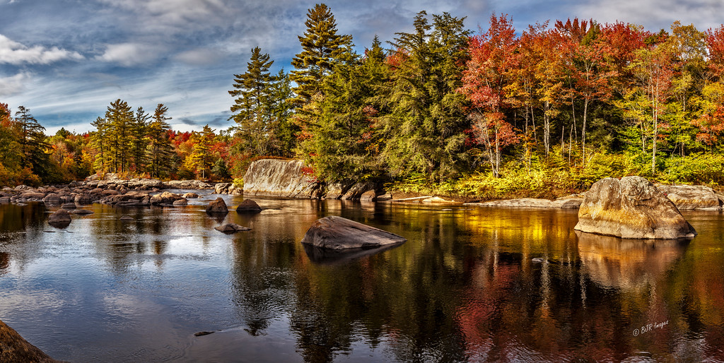 Moose River Fall Colors