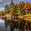 Moose River Fall Colors