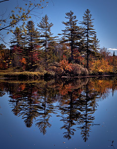 Adirondack Fall Reflections