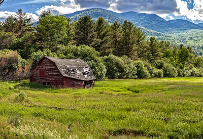 Tired Old Adirondack Barn