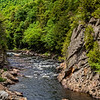 Rapids on the Ausable River