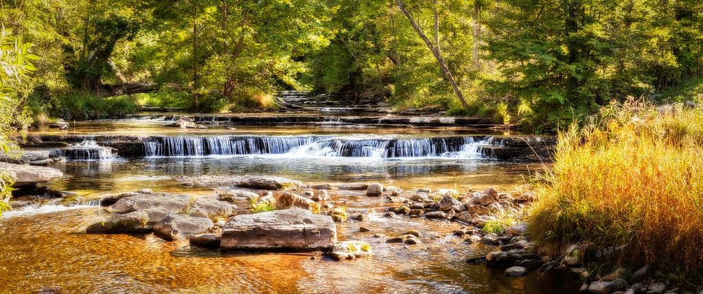 Chittenango Creek above Chittenango Falls