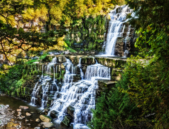 Chittenango Falls in Chittenango Falls State Park in Central New York State