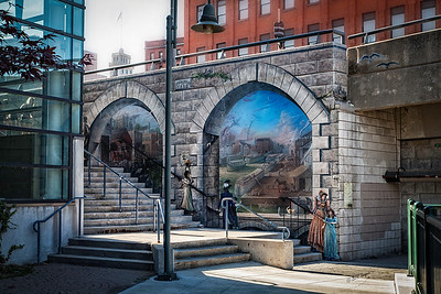 Broad Street Mural in Rochester