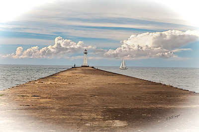 Sodus Point Afternoon on Lake Ontario