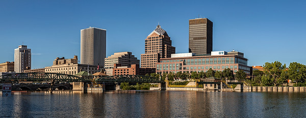 Rochester and the Genesee River