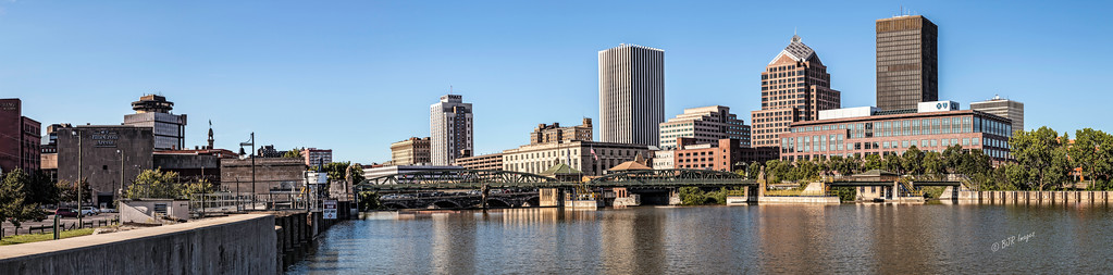 The City of Rochester and the Genesee River