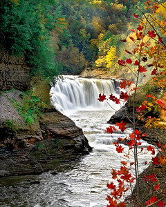 Letchworth State Park lower falls