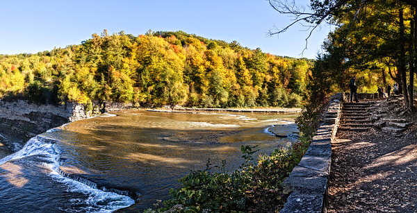 Letchworth Middle Falls Color