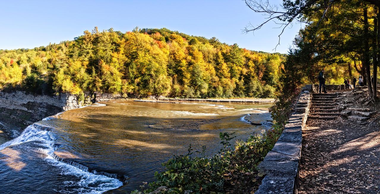 Letchworth Middle Falls Color