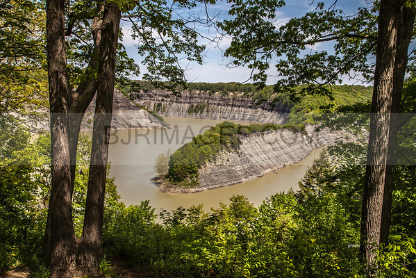 Hogback area of Letchworth State Park