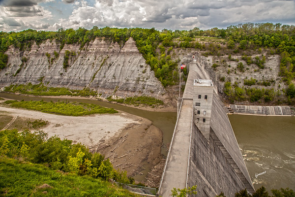 Letchworth State Park Dam