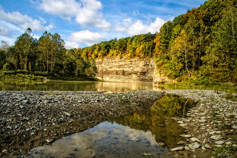 Saint Hellinas in Letchworth State Park in New York State