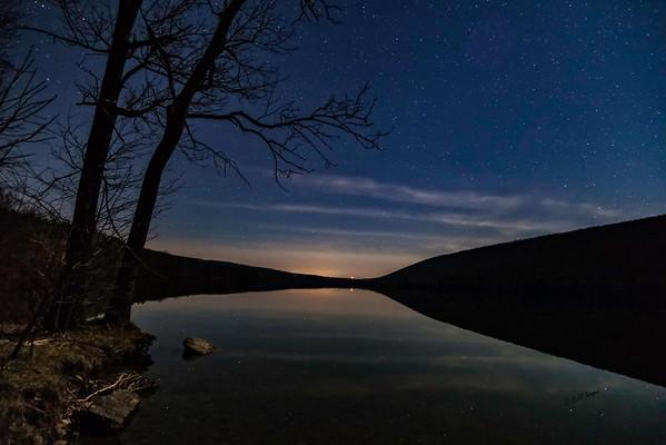 Canadice Lake and Stars