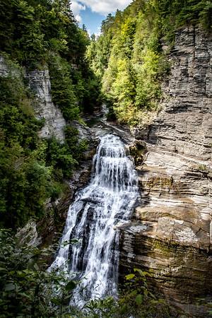 Lucifer Falls in Robert Treman State Park