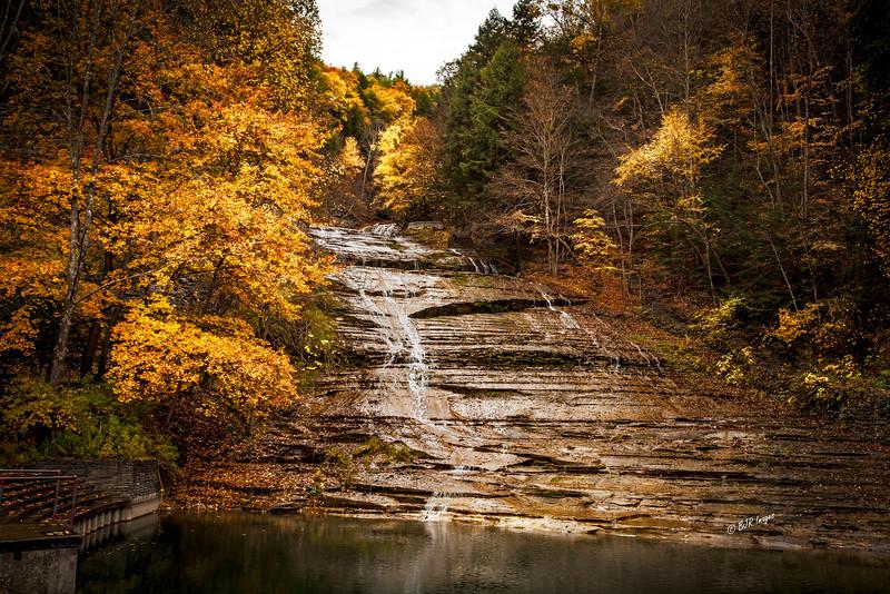 Buttermilk Falls in Ithaca, NY
