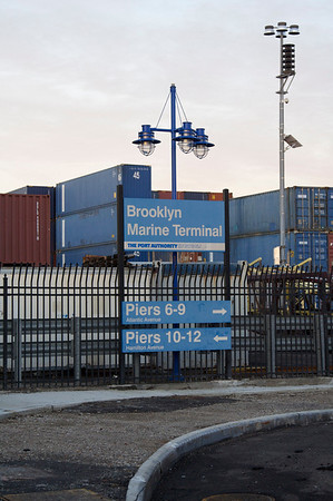 Container yard - Brooklyn