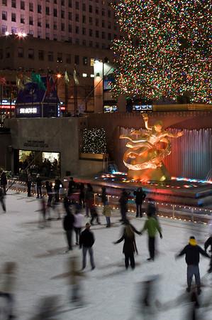 Rockefeller Center Ice Rink –New York City