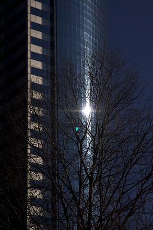 Window flare in Lower Manhattan