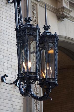 Lamps on The Dakota