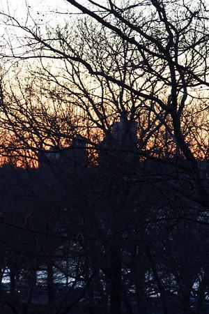 Sunset across the Hudson