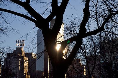 City, Sun, Central Park