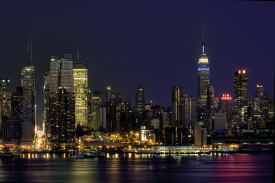 Manhattan, taken from Weehawken, NJ.