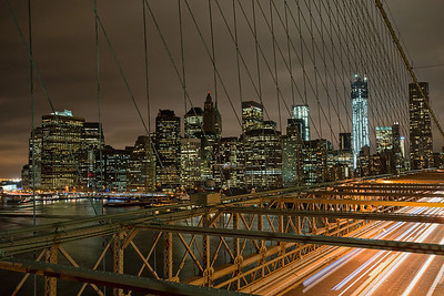 #293 Rush Hour, Brooklyn Bridge, NY.